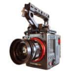 The Kinefinity Mavo Edge 8k Camera with a voigtlander lens attached