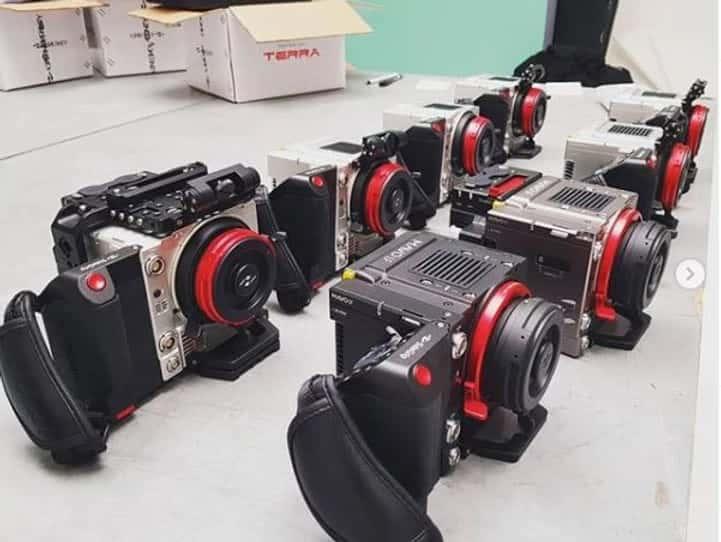 Black balancing Kinefinity Cameras