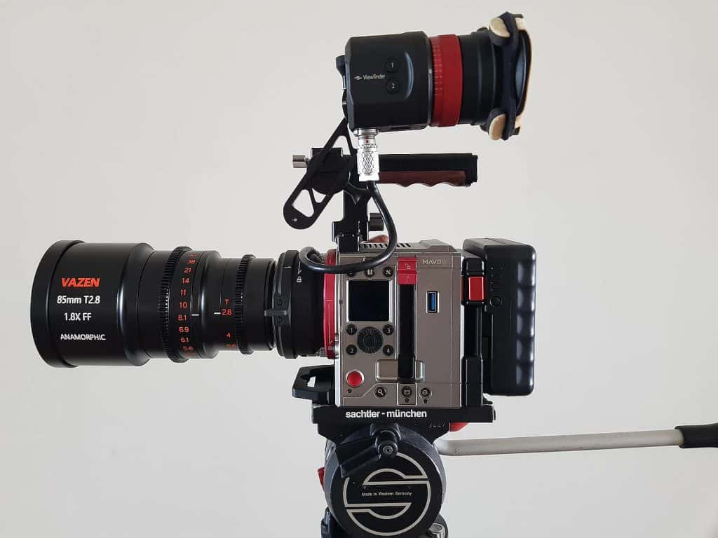 Kinefinity MAVO LF with Vazen anamorphic lens